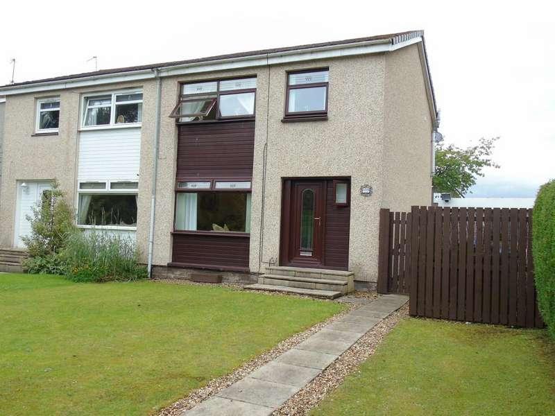 3 Bedrooms Semi Detached House for sale in Drumpellier Avenue, Drumpellier, Coatbridge, North Lanarkshire, ML5