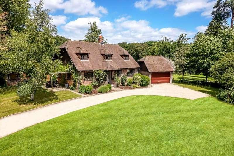 4 Bedrooms Detached House for sale in Frilsham, Yattendon, Thatcham, Berkshire