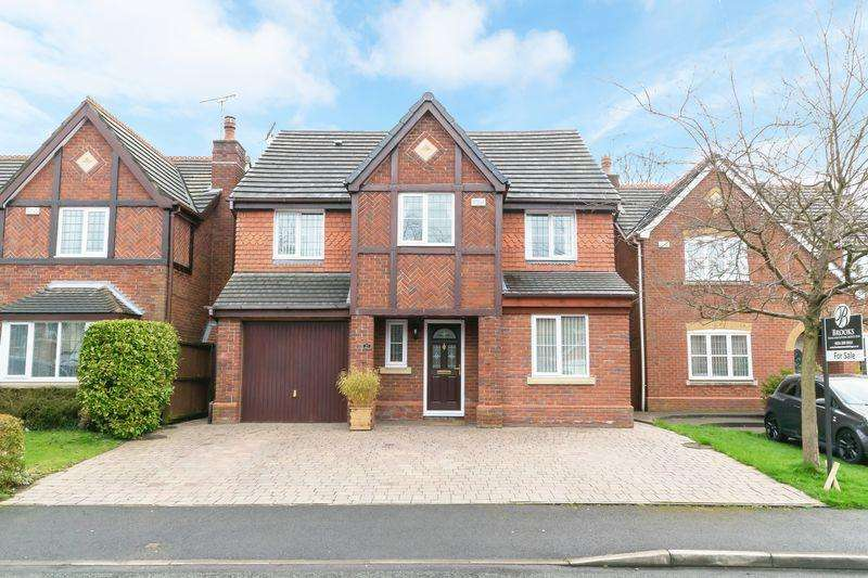 4 Bedrooms Detached House for sale in Blenheim Drive, Prescot