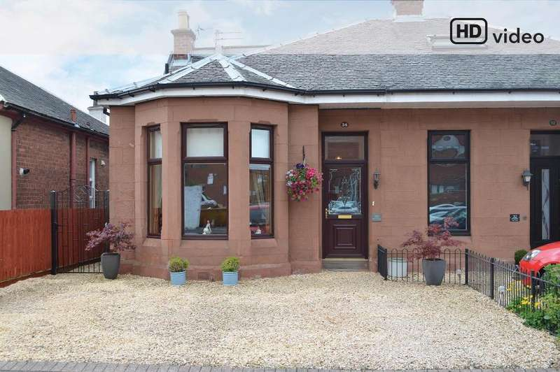 4 Bedrooms Semi Detached House for sale in Fir Park Street, Motherwell, North Lanarkshire, ML1 2PR
