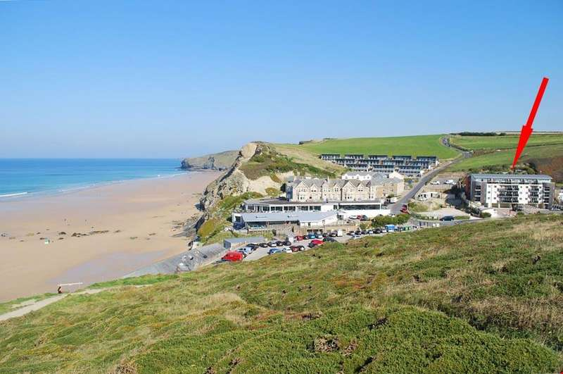 2 Bedrooms Apartment Flat for sale in Watergate Bay, Newquay, Cornwall, TR8