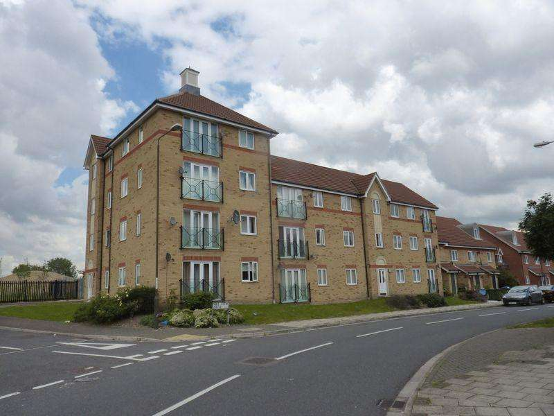 2 Bedrooms Apartment Flat for sale in Hill View Drive, Thamesmead, SE28 0LJ