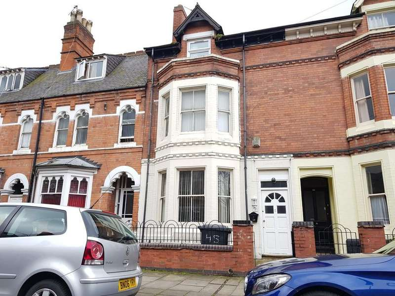 5 Bedrooms Town House for sale in Severn Street, Highfields, Leicester, LE2