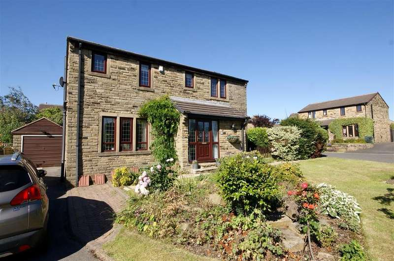 4 Bedrooms Detached House for sale in Highley Park, Clifton, Brighouse