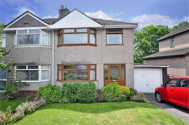 3 Bedrooms Semi Detached House for sale in Aberthaw Road, Ringland, Newport, Gwent. NP19 9QP