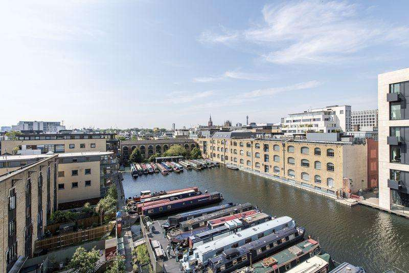 3 Bedrooms Apartment Flat for sale in New Wharf Road, London