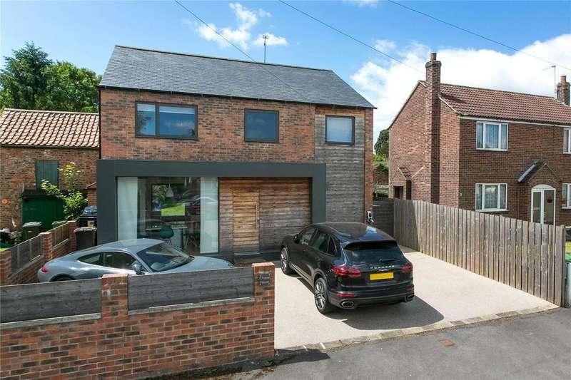 4 Bedrooms Detached House for sale in Main Street, Naburn, York, YO19
