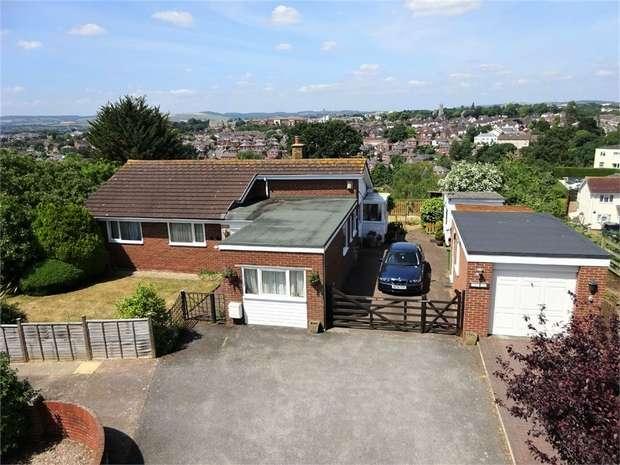 3 Bedrooms Detached Bungalow for sale in Quarry Lane, Broadfields, EXETER, Devon