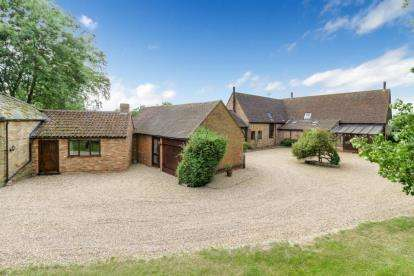 6 Bedrooms Detached House for sale in Cross End, Thurleigh, Bedford, Bedfordshire