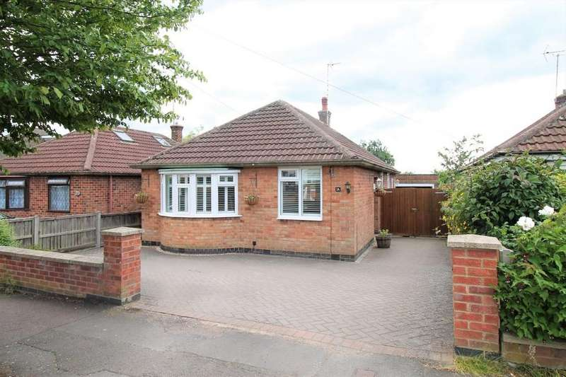 3 Bedrooms Detached Bungalow for sale in Cromwell Crescent, Market Harborough