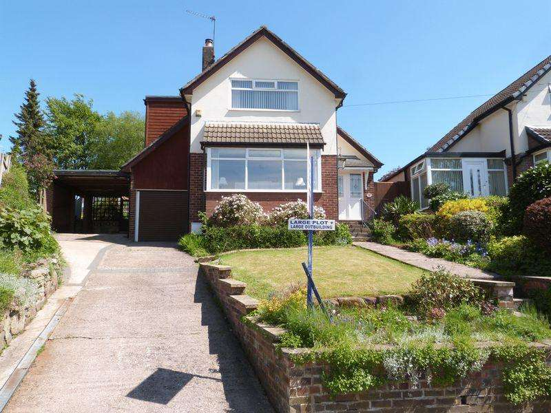 3 Bedrooms Detached House for sale in Buxton Old Road, Congleton, Cheshire, CW12 2EL