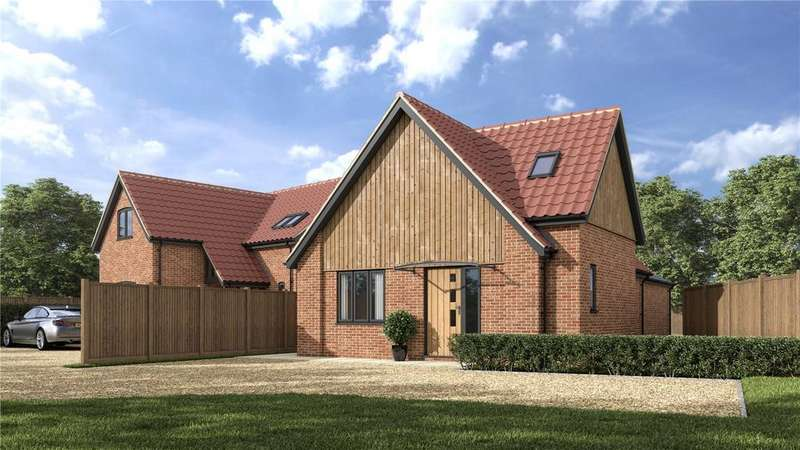 3 Bedrooms Detached House for sale in Little Shrublands, Finneys Drift, Nacton, Ipswich, IP10