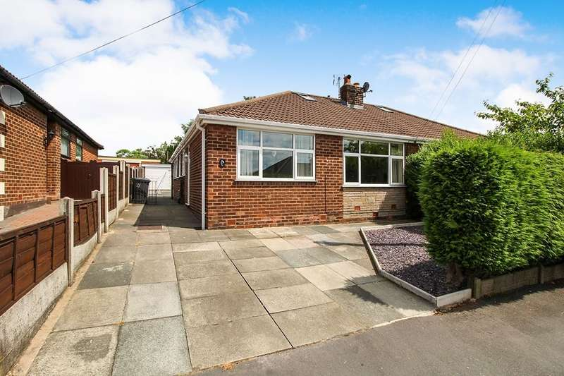 3 Bedrooms Semi Detached Bungalow for sale in Coach House Drive, Shevington, Wigan, WN6