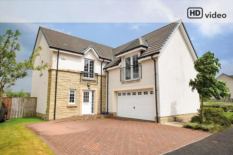 5 Bedrooms Detached House for sale in Wakefield Avenue, Lindsayfield, East Kilbride, G75 8HG