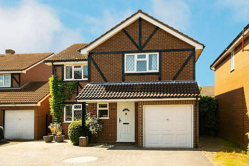 4 Bedrooms Detached House for sale in Merrifield Close, Lower Earley, Reading, RG6 4BN