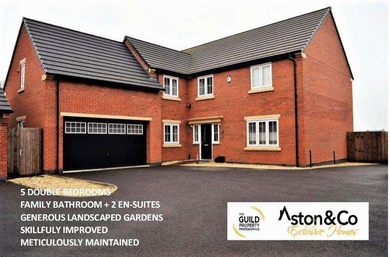 5 Bedrooms Detached House for sale in Eatough Close, Syston, Leicestershire