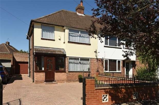 3 Bedrooms Semi Detached House for sale in Aylesbury Road, Bedford