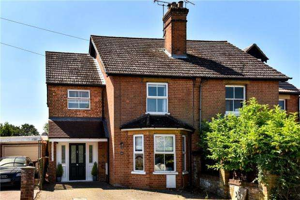 4 Bedrooms Semi Detached House for sale in Cambridge Road, Crowthorne, Berkshire