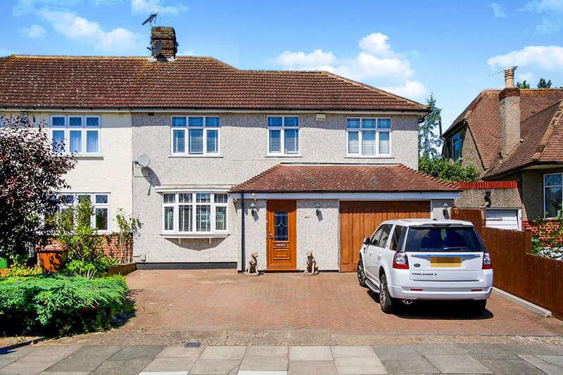 4 Bedrooms Semi Detached House for sale in Horley Close, Bexleyheath, DA6