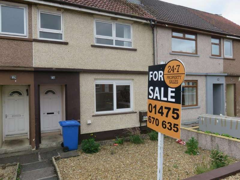 2 Bedrooms Terraced House for sale in Craigs View , Springside, Irvine KA11