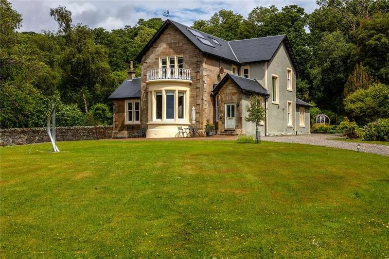 5 Bedrooms Detached House for sale in Broomcraig, Shore Road, Cove, Helensburgh, G84