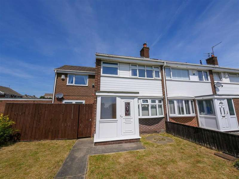 4 Bedrooms End Of Terrace House for sale in Plumtree Avenue, Wear View, Sunderland