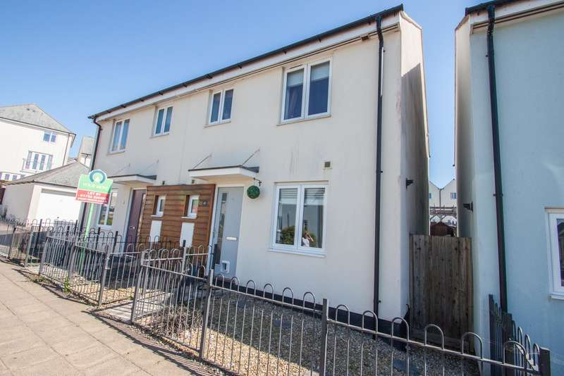 3 Bedrooms Semi Detached House for sale in Warleigh Village, Plymouth