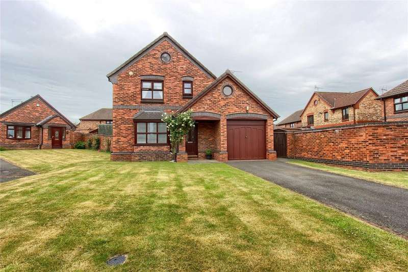 3 Bedrooms Detached House for sale in Abbey Court, Normanby