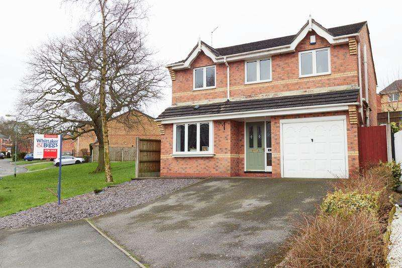 4 Bedrooms Detached House for sale in Mossfield Drive, Biddulph, Staffordshire, ST8 6UL