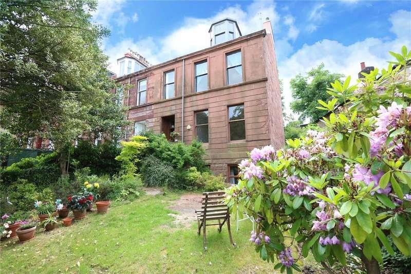 3 Bedrooms Apartment Flat for sale in Ground Garden, Turnberry Road, Hyndland, Glasgow