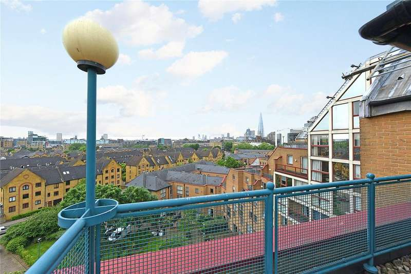 4 Bedrooms Penthouse Flat for sale in Leeward Court, Asher Way, London, E1W
