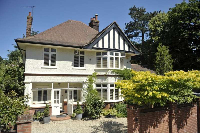 5 Bedrooms Detached House for sale in Constitution Hill, Ipswich, IP1 3RH