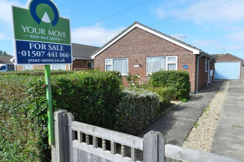 2 Bedrooms Detached Bungalow for sale in Wilmington Drive, Sutton-On-Sea, Mablethorpe, LN12