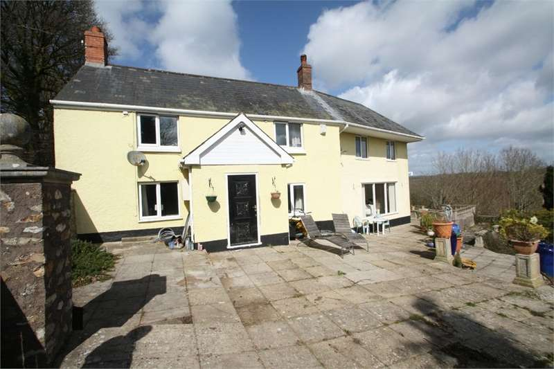5 Bedrooms Detached House for sale in Pencross Hill, Hemyock, Devon
