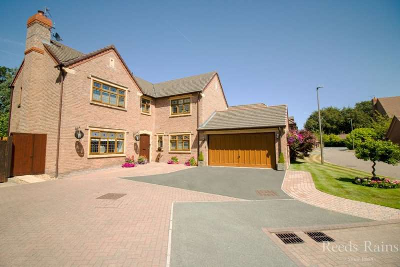 4 Bedrooms Detached House for sale in Barnwood, Little Sutton, Ellesmere Port, CH66