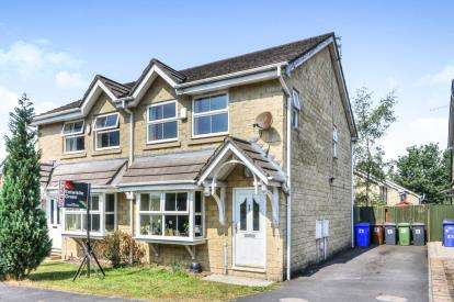 3 Bedrooms Semi Detached House for sale in Quakers View, Brierfield, Lancashire, BB9