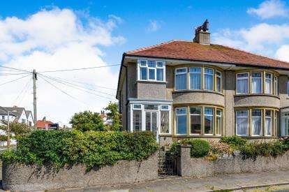 3 Bedrooms Semi Detached House for sale in Knowlys Drive, Heysham, Morecambe, Lancashire, LA3