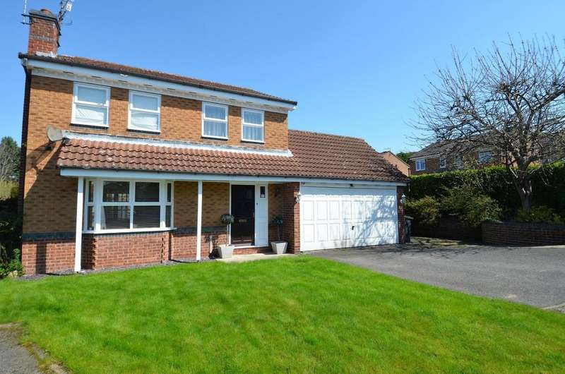 4 Bedrooms Detached House for sale in St Giles Close, Chesterfield
