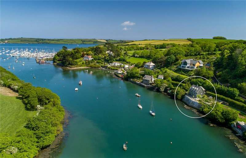 4 Bedrooms Detached House for sale in Church Road, Mylor, Falmouth, Cornwall, TR11