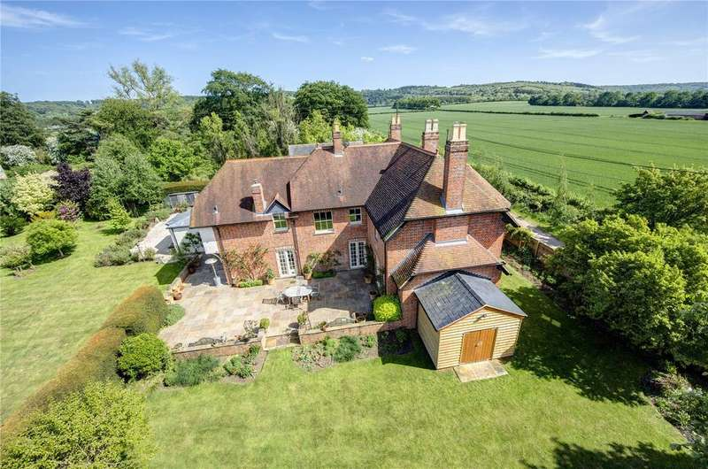 6 Bedrooms Detached House for sale in Station Road, Pyrton, Watlington, Oxfordshire, OX49