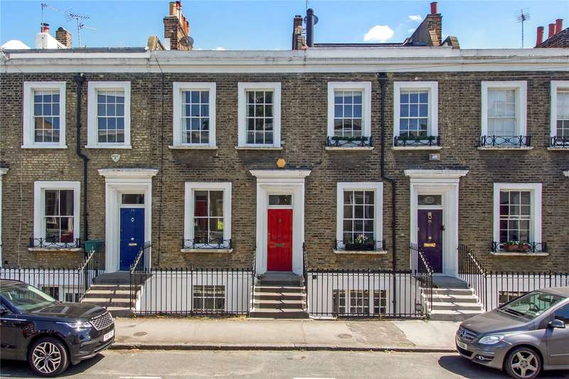 2 Bedrooms House for sale in Arlington Avenue, London, N1
