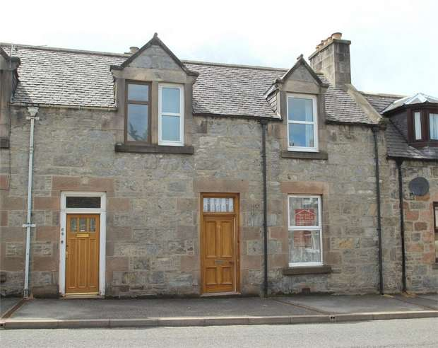 2 Bedrooms Terraced House for sale in Balvenie Street, Dufftown, Moray