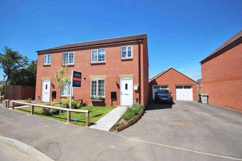 3 Bedrooms Semi Detached House for sale in FULMAR DRIVE, LOUTH