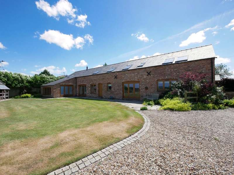 5 Bedrooms Barn Conversion Character Property for sale in Oak Hill Barn, Crowton, CW8 2RT