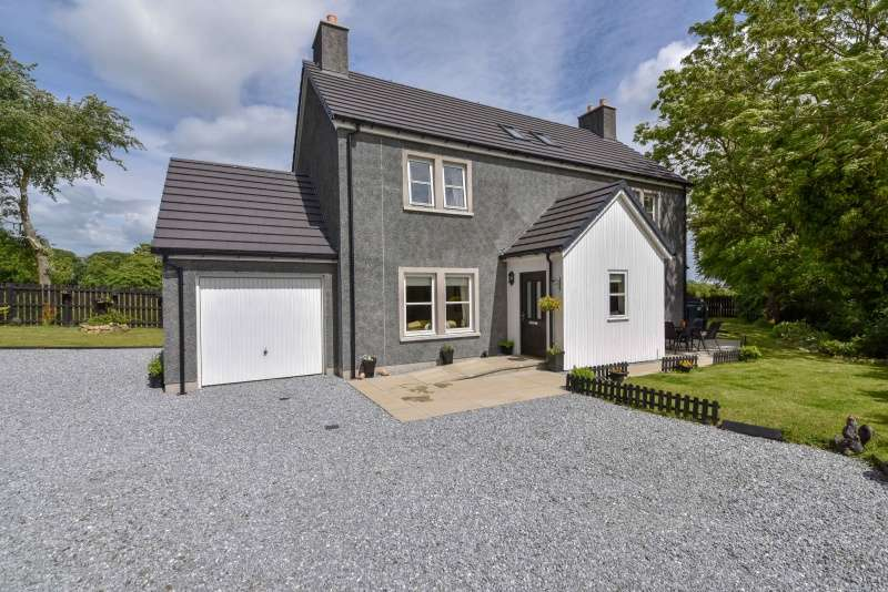 4 Bedrooms Detached House for sale in Pittrichie, Whiterashes, Aberdeenshire, AB21 0QT