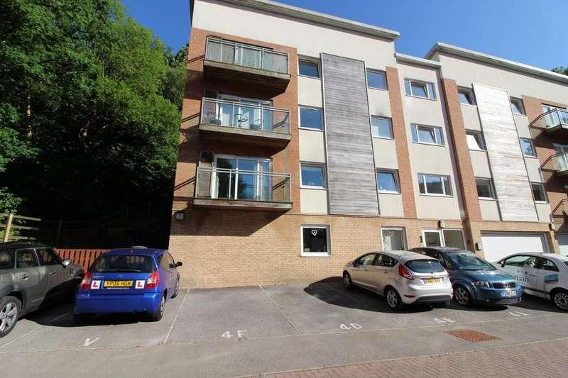 2 Bedrooms Flat for sale in Dyffryn Court, Abercarn