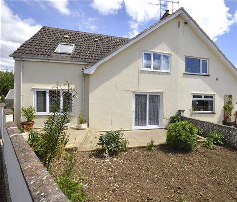 3 Bedrooms Semi Detached House for sale in Gannicox Road, Stroud, Gloucestershire, GL5 4EZ