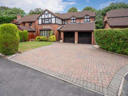 4 Bedrooms Detached House for sale in Mallowdale, Worsley, Manchester, Greater Manchester