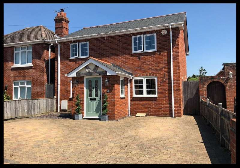 3 Bedrooms Detached House for sale in Wood Road, Ashurst, Southampton SO40