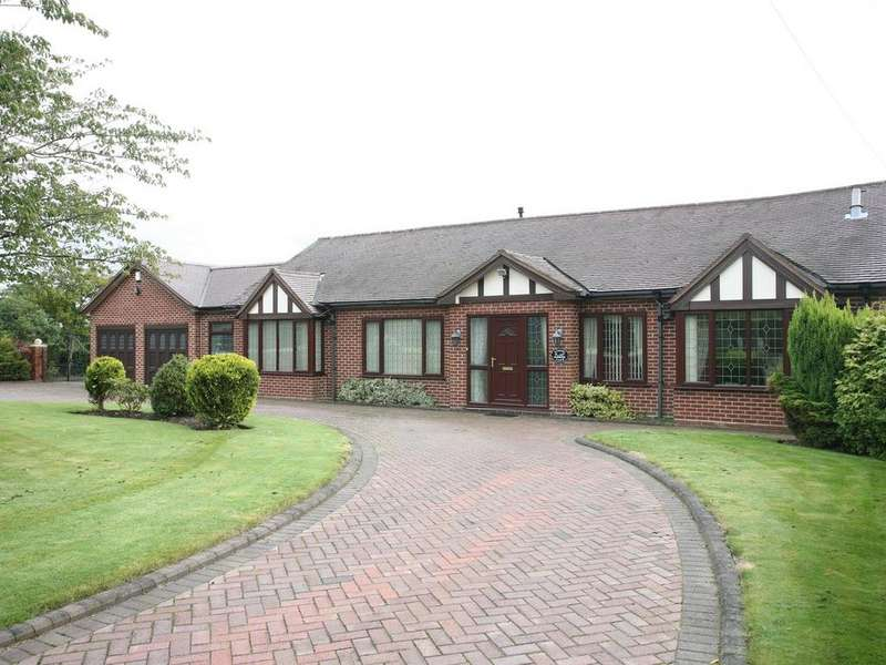 4 Bedrooms Detached Bungalow for sale in Fisher Farm Bungalow, Upper Landywood Lane, Cheslyn Hay, WS6 7AX
